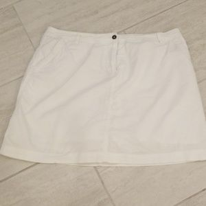 💥Adorable White Skort(Clearance)
